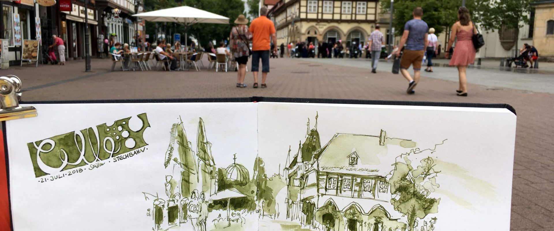 Urban Sketching in Celle