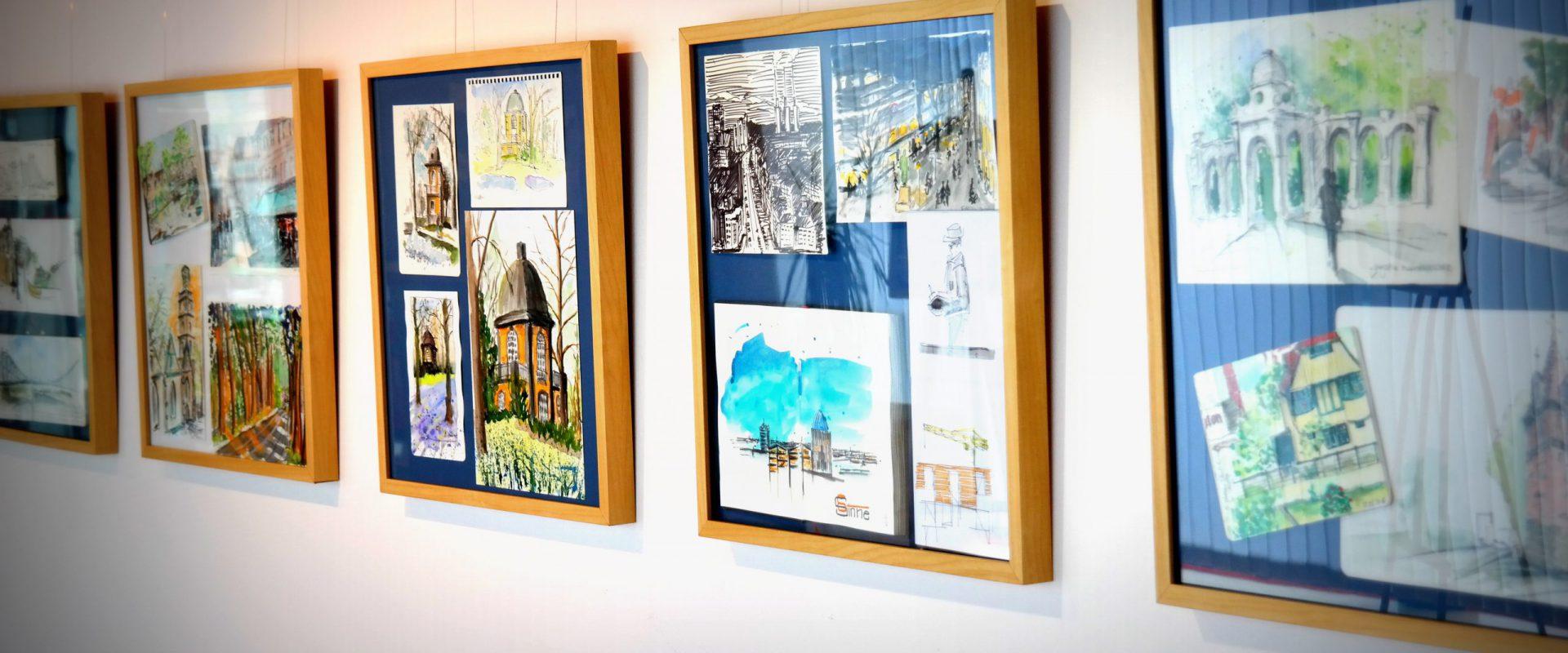 Ausstellung bei boesner Hannover