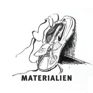 Bild meines Urban Sketching Materialien