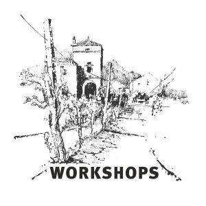 Bild eines Urban Sketching Workshops mit Dietmar Stiller